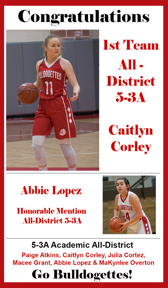 CHS's Corley named to 5-3A All District basketball list