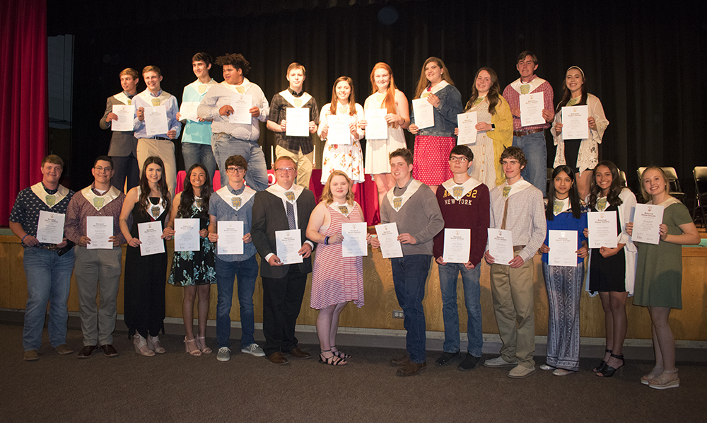 CHS inducts 24 into NHS