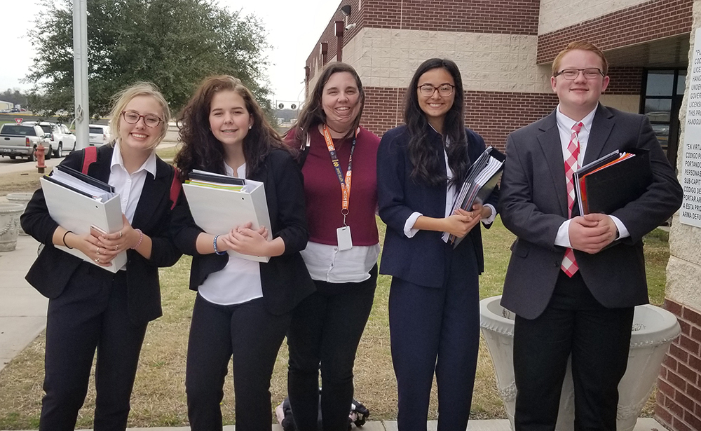 CHS CX teams fare well at 1st debate meet