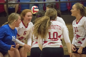 Wild finish for Dogettes district opener