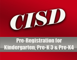 Coahoma ISD kindergarten, Pre-K3 and Pre-K4 Pre-Registration