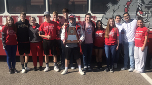 Big Red Band earns Sweepstakes