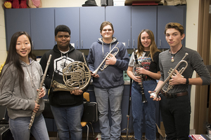 CHS band students perform in All-Region concert