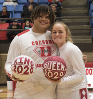 2020 CHS Basketball King and Queen