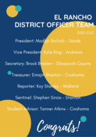 Braxton, Atkins elected to District FFA position