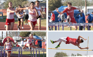 CHS' JV teams shine at District 5-3A track meet