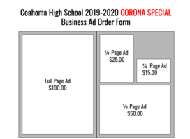 Yearbook Business Ads 50% off