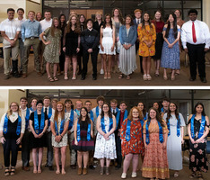 CHS NHS inducts 19 new members