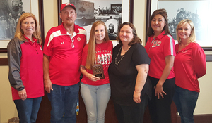 King named Rotary's Student of Month