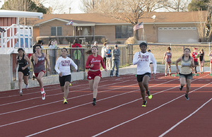 Track team dominates CHS Invitational