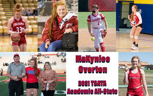 MaKynlee Overton named to TSATA Academic All State Team