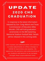 CHS Graduation UPDATE