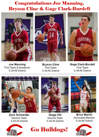 Six Bulldogs land on 5-3A All District list