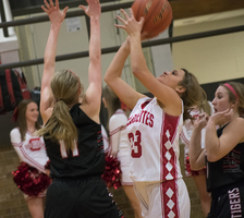 Bulldogettes fall to Lady Tigers