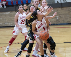 Bulldogettes shutdown Lady Cats for 54-33 win
