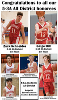 5-3A All-District honorees from Coahoma